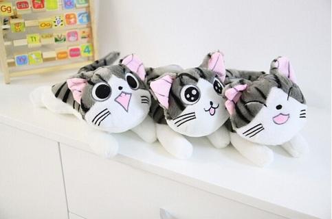 Cheese Cat Plush Stuffed Toy Doll Pillow Cushion
