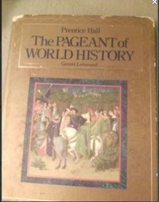 Pageant of World History Hardcover – May, 1994 by Gerald Leinwand Author