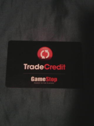 GameStop Trade in card number. $9.22 to spend!