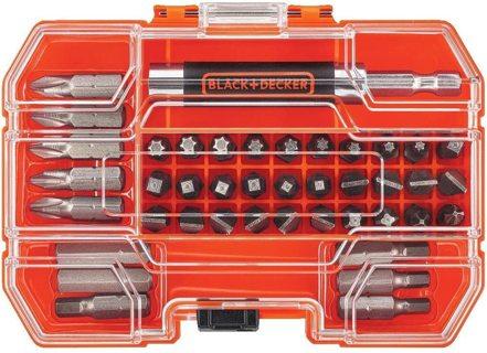 BLACK+DECKER Screwdriver Bit Set, 42-Piece