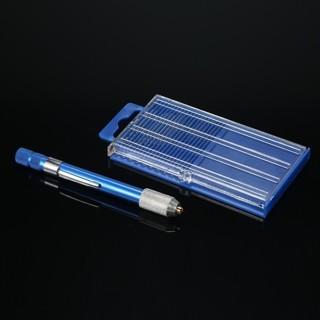 [GIN FOR FREE SHIPPING] 21PCs Mini Twist Micro-Drill Bits Set Index 61-80 w/Aluminum