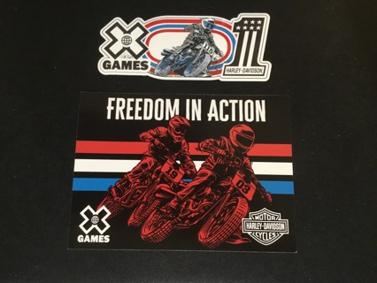 HARLEY-DAVIDSON MOTORCYCLES Sticker / Decal ~ X GAMES
