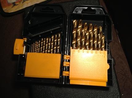 High Speed Steel Titanium Nitride Drill Bit Tool Tools FREE USA Shipping