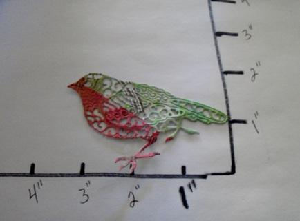 Bird Die Cut