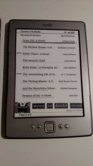 Free: KINDLE TABLET W/ 150+ BOOKS INCLUDED! Model # D01100