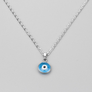 Turkish Evil Eye Necklace Glass Charm Pendent Blue Fashion Jewelry Protector Men Women