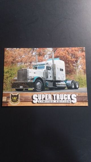 CAT SCALE COLLECTORS CARD SUPER TRUCKS LIMITED EDITION SERIES 16 # 32