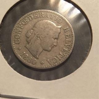 1880 B  5Rappen