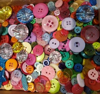 BUTTONS, ALL STYLES, 175 CT