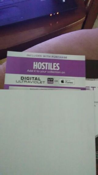 Hostiles code
