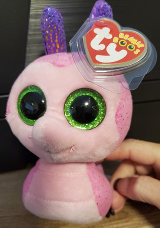 "NEW - TY Beanie Boos Baby - ""Scooter"""