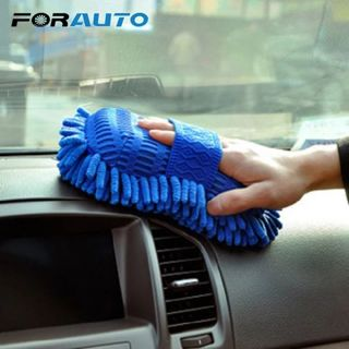 Car Cleaning Sponge Car Window Cleaning Brush Car Washer Auto wash gloves