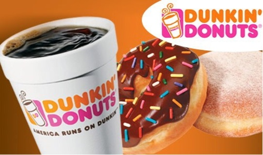 $10.00 dunkin donuts card