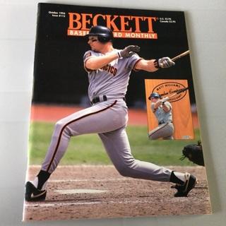 Beckett Baseball Card Monthly Magazine - October 1994  Issue # 115