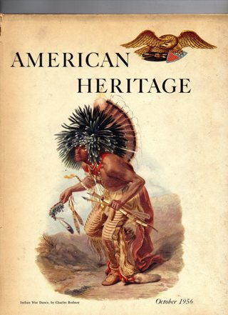 Vintage American Heritage Hard Covered Book: October 1956