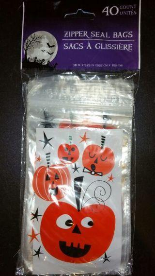 Halloween Zipper Seal Bags