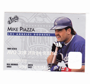 Mike Piazza 1995 Studio #4
