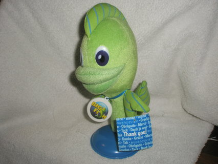 Free felix the fish big fish games plush stuffed toy for Fish stuffed animal