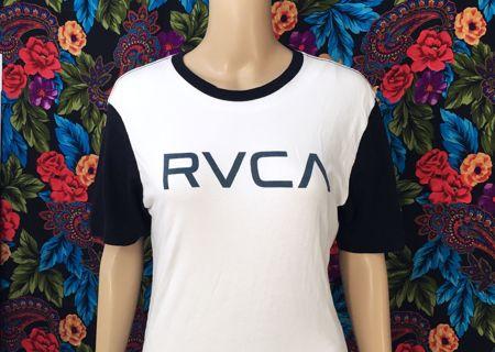 RVCA SHIRT MEN'S Men's RVCA Shirt Two Tone Skate Tee RVCA FREE SHIPPING