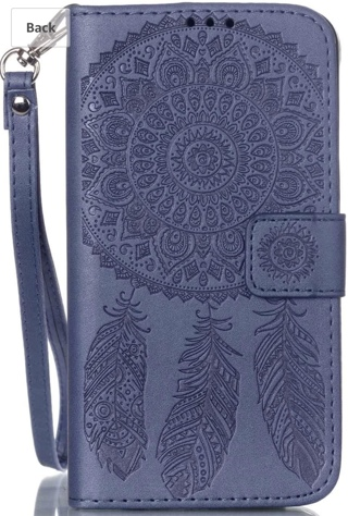 Wallet case with stylus for Samsung Galaxy