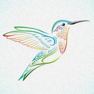 free hummingbird cross stitch pattern