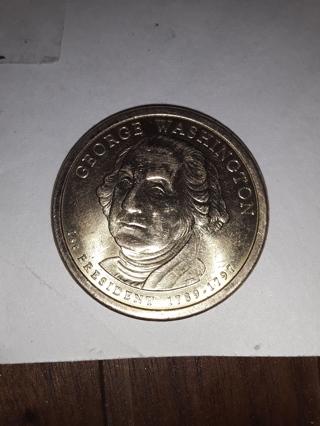 George Washington gold coin