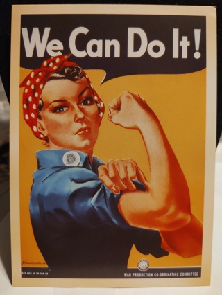 3 Military We Can Do It Vintage Post Cards