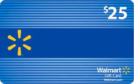 $25 walmart gift card! Fast delivery! Online now!