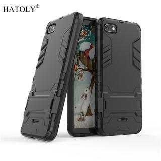 Cover Xiaomi Redmi 6A Case Rubber Robot Armor Phone Shell Hard Back Phone Case for Xiaomi Redmi 6A