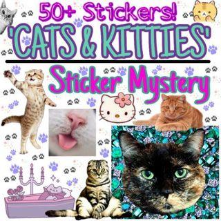 ꗨ:ꅢ❣Cat & Kitty Sticker Bundle❣ꗨ:ꅢ