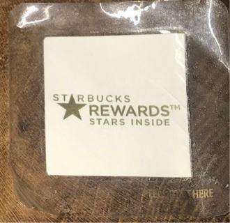 STARBUCKS REWARDS!