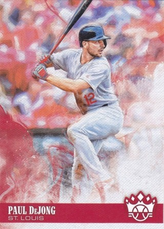 Paul DeJong 2018 Panini Diamond Kings St. Louis Cardinals