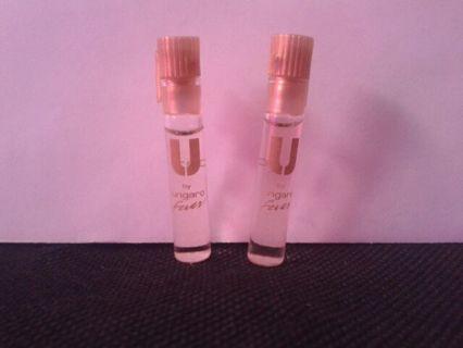 2 perfume samples