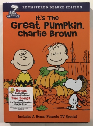 It's the Great Pumpkin, Charlie Brown (Remastered Deluxe Edition) DVD with Slipcover - New Sealed