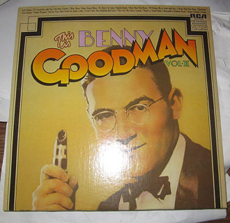 THIS IS BENNY GOODMAN VOL II 2 LP RECORDS WITH DUST COVER!
