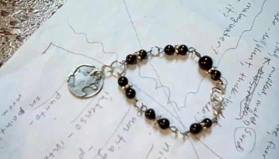 Handmade beaded bracelet