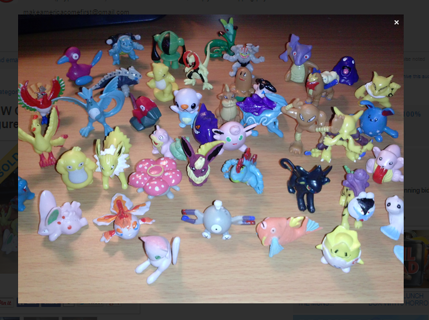 NEW Cute Tiny Pokemon Figures.Winner Gets x2 Figures! Anime Manga Pocket Monster GIN = FREE SHIPPING