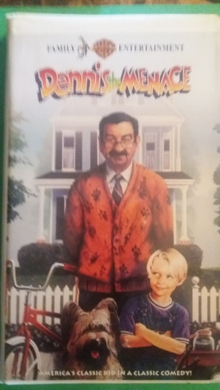 vhs dennis the menace  free shipping