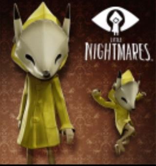 Little nightmares- DLC fox mask