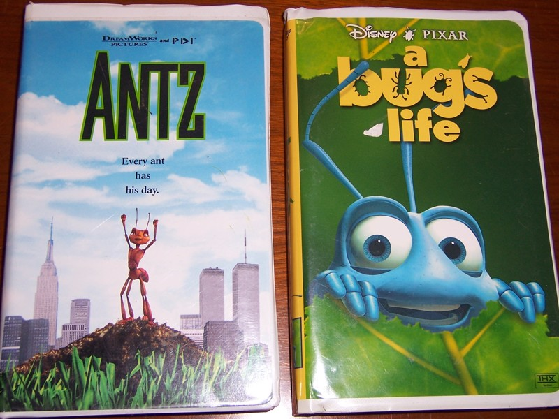 Free Antz Disney S A Bug S Life On Vhs Vhs Listia Com Auctions For Free Stuff