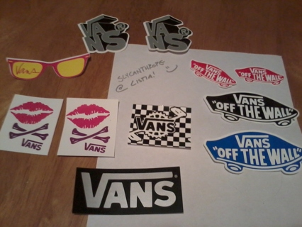 Free: Vans Sticker Pack - Stickers - Listia com Auctions for