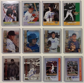 Signed Autograph / Rookie / Serial Numbered Baseball Cards Mixed Lot of 12