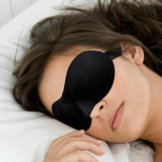 Eye Mask Soft Padded Sleep Travel Shade Cover Rest Relax Sleeping Blindfold