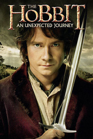 The HOBBIT - An Unexpected Journey - HD - MOVIE CODE ONLY - MOVIES ANYWHERE OR VUDU