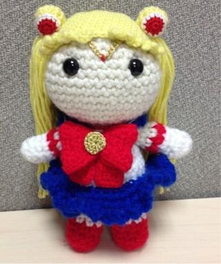 Bonny the Fox - Cute anime-style crochet fox doll 17'' with scarf ...   382x320
