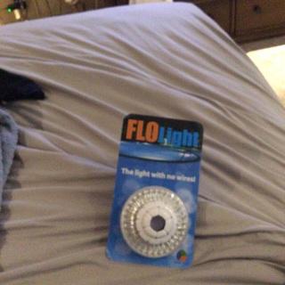 Flo light for pool