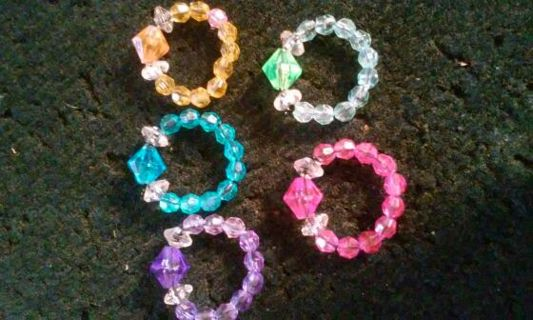 5 rings and with GIN U Choose up to 10 Rings OR Earrings