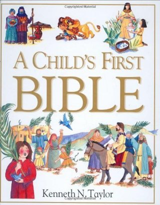 """❤ BID TO WIN ~ """" A Child's First Bible """" Hardcover ~ ❤"""