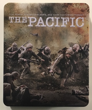 The Pacific HBO Epic WWII War Drama Mini-Series Blu-Ray 6-Disc Boxed Set In Tin - Mint Discs!