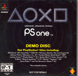 Free: Playstation 1 Demo Disc (NEW and SEALED) - Video Games